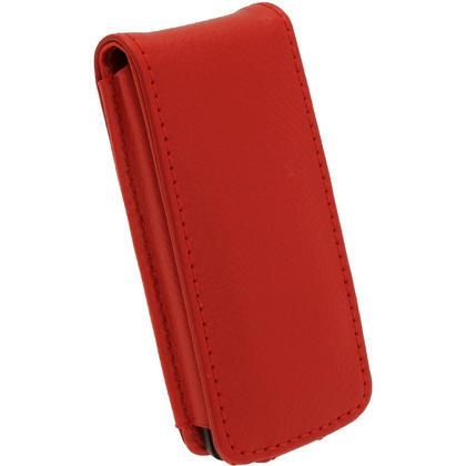 iGadgitz Red Leather Case for Sony Walkman NWZ-E473 NWZ-E474 NWZ-E574 NWZ-E575 E Series MP3 Player Thumbnail 5