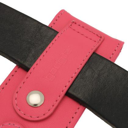 iGadgitz Pink Leather Case for Sony Walkman NWZ-E473 NWZ-E474 NWZ-E574 NWZ-E575 E Series MP3 Player Thumbnail 2