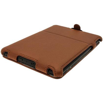 iGadgitz Brown PU 'Heat Molded' Leather Case for Amazon Kindle Paperwhite 2015 2014 2013 2012 + Sleep/Wake & Hand Strap Thumbnail 8