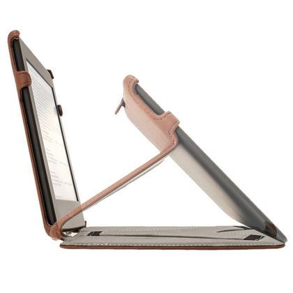 iGadgitz Brown PU 'Heat Molded' Leather Case for Amazon Kindle Paperwhite 2015 2014 2013 2012 + Sleep/Wake & Hand Strap Thumbnail 6