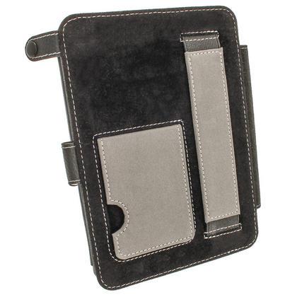 iGadgitz Black PU 'Bi-View' Leather Case for Amazon Kindle Paperwhite 2015 2014 2013 2012 With Sleep/Wake & Hand Strap Thumbnail 7
