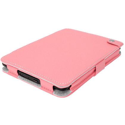 iGadgitz Pink PU 'Bi-View' Leather Case for Amazon Kindle Paperwhite 2015 2014 2013 2012 With Sleep/Wake & Hand Strap Thumbnail 2