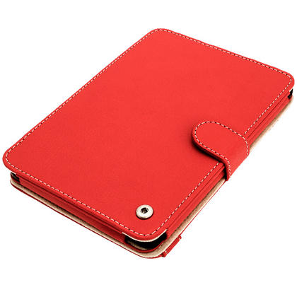iGadgitz Red PU 'Bi-View' Leather Case for Amazon Kindle Paperwhite 2015 2014 2013 2012 With Sleep/Wake & Hand Strap Thumbnail 8