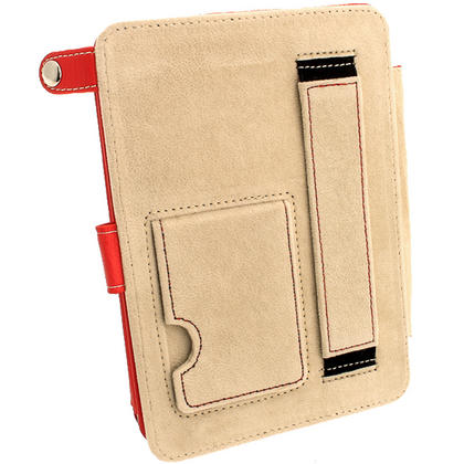 iGadgitz Red PU 'Bi-View' Leather Case for Amazon Kindle Paperwhite 2015 2014 2013 2012 With Sleep/Wake & Hand Strap Thumbnail 7