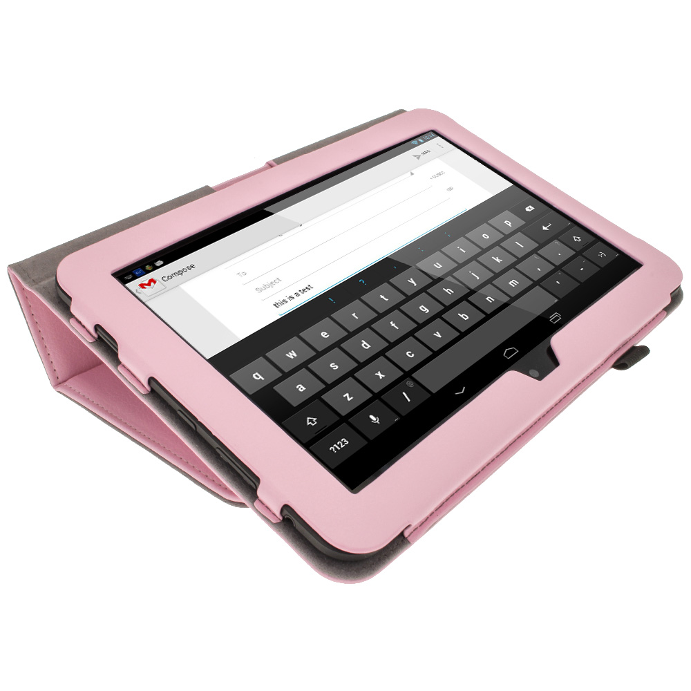 "Pink PU Leather Case For Amazon Kindle Fire HD 8.9"" Wi-fi"