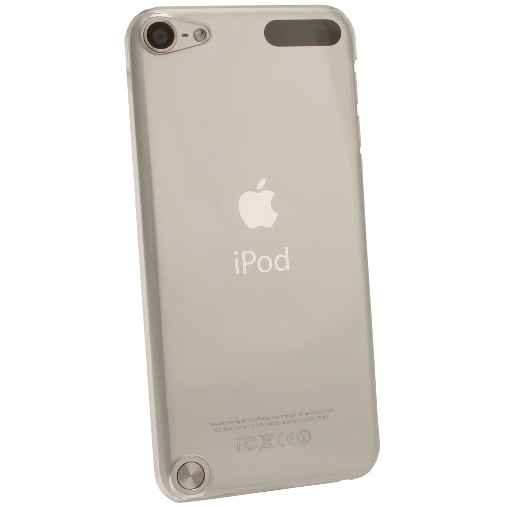 Clear PC Hard Case for Apple iPod Touch 6th 5th Generation ...