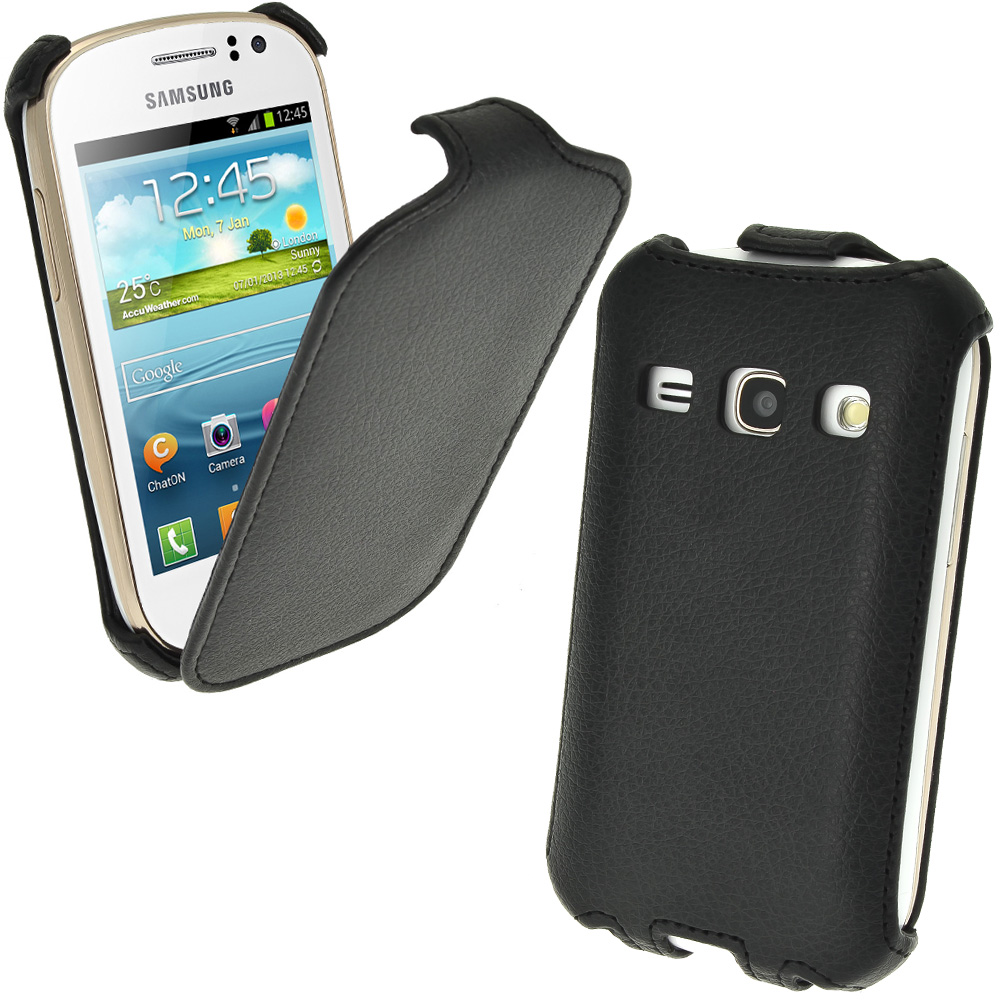 PU Leather Slim Flip Skin Case Cover Holder Pouch For