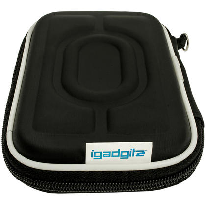 """iGadgitz Black Hard Case for Intenso Memory Station, Safe, Play, 2 Move, Drive, Blade, Home, Box 2.5"""" USB Portable External HD Thumbnail 3"""