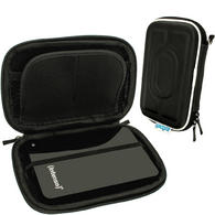 "iGadgitz Black Hard Case for Intenso Memory Station, Safe, Play, 2 Move, Drive, Blade, Home, Box 2.5"" USB Portable External HD"