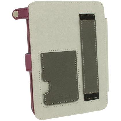 iGadgitz Purple PU 'Bi-View' Leather Case for Amazon Kindle Paperwhite 2015 2014 2013 2012 With Sleep/Wake & Hand Strap Thumbnail 5