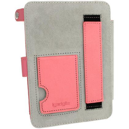 iGadgitz Polka Dot PU Leather Case for Amazon Kindle Paperwhite 2015 2014 2013 2012 with Sleep/Wake & Hand Strap Thumbnail 4