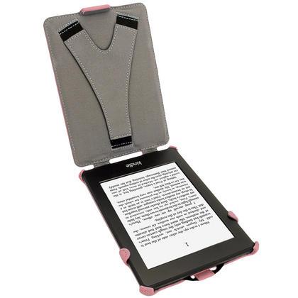 iGadgitz Polka Dot PU Leather Case forAmazon Kindle Paperwhite 2015 2014 2013 2012 with Sleep/Wake & Hand Strap Thumbnail 3