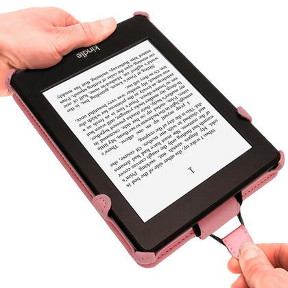 iGadgitz Polka Dot PU Leather Case forAmazon Kindle Paperwhite 2015 2014 2013 2012 with Sleep/Wake & Hand Strap Thumbnail 4