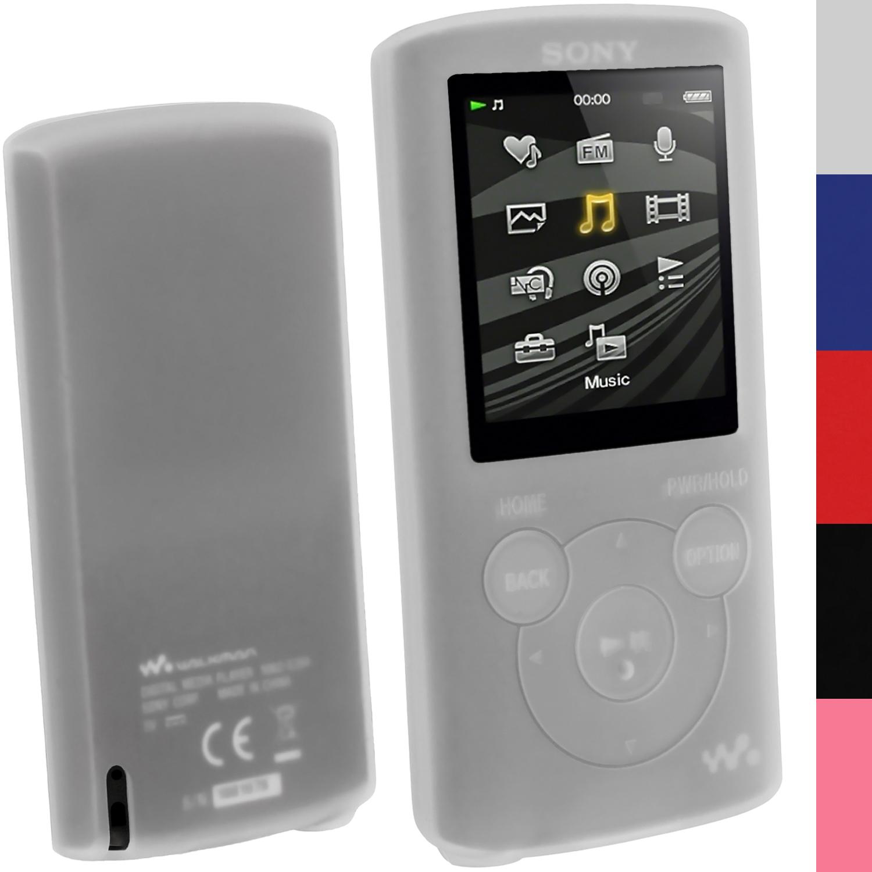 Sony Mp3 Player 4gb Walkman Nwz E383: Silicone Skin Case Cover For Sony Walkman NWZ-E384 E385