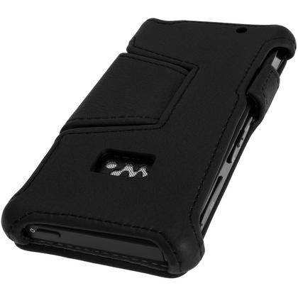 iGadgitz PU Leather Flip Case for Sony Walkman NWZ-F886-F887 with Viewing Stand + Screen Protector (various colours) Thumbnail 2