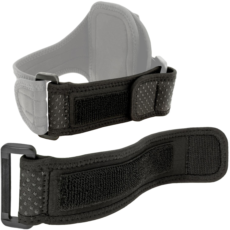 iGadgitz Black Neoprene Extender Grip Strap for Sports Jogging Armbands Fitness Running Gym