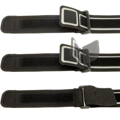 iGadgitz Black Neoprene Extender Grip Strap for Sports Jogging Armbands Fitness Running Gym Thumbnail 4