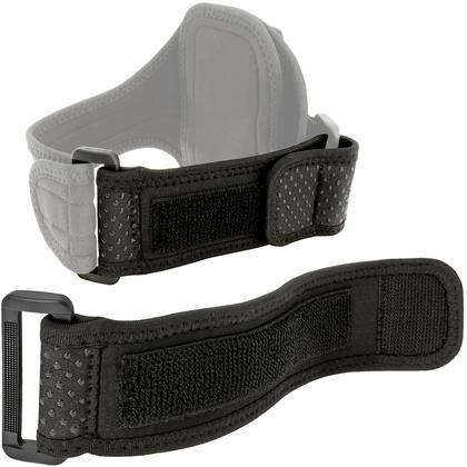 iGadgitz Black Neoprene Extender Grip Strap for Sports Jogging Armbands Fitness Running Gym Thumbnail 1