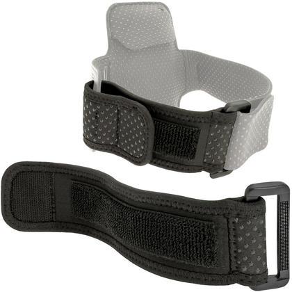 iGadgitz Black Neoprene Extender Grip Strap for Sports Jogging Armbands Fitness Running Gym Thumbnail 2