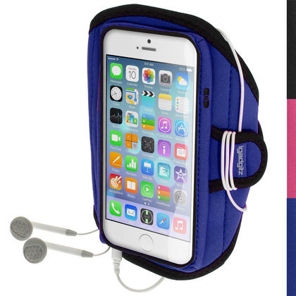 "iGadgitz Water Resistant Sports Jogging Gym Armband for Apple iPhone 6 4.7"" 2014 (various colours)"