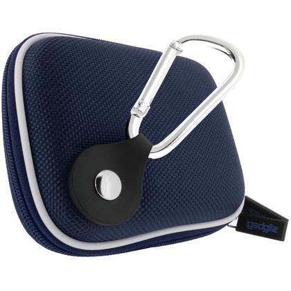 iGadgitz Blue EVA Travel Hard Case Cover for Digital Cameras / Video Pocket Camcorders Thumbnail 2