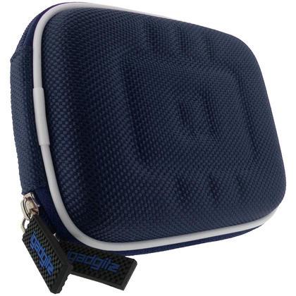 iGadgitz Blue EVA Travel Hard Case Cover for Digital Cameras / Video Pocket Camcorders Thumbnail 3