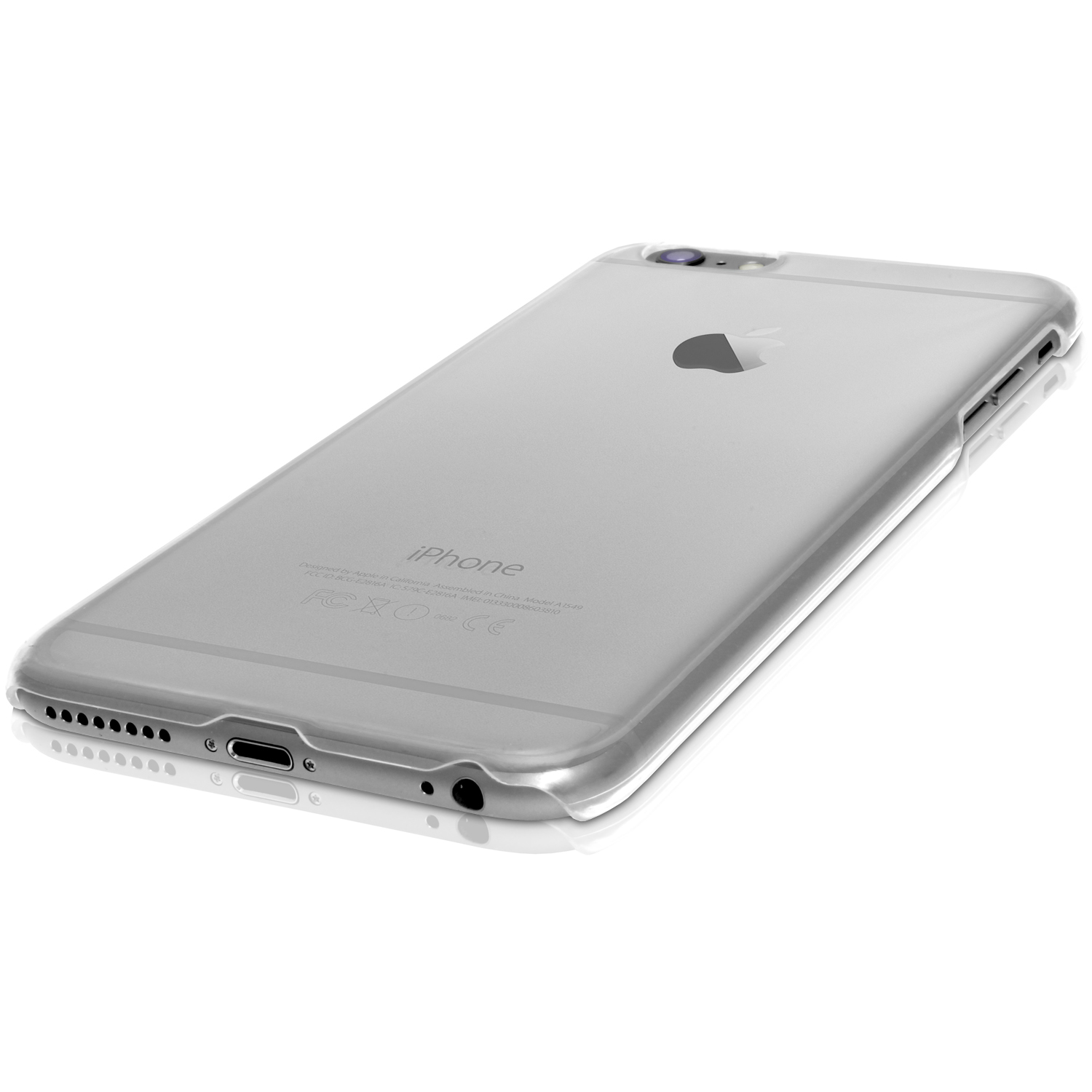 igadgitz clear pc hard back case cover for apple iphone 6