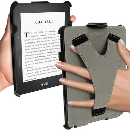 iGadgitz PU Leather Stand Case for Amazon Kindle Voyage 2014 Flip Folio Cover with Sleep Wake Thumbnail 4