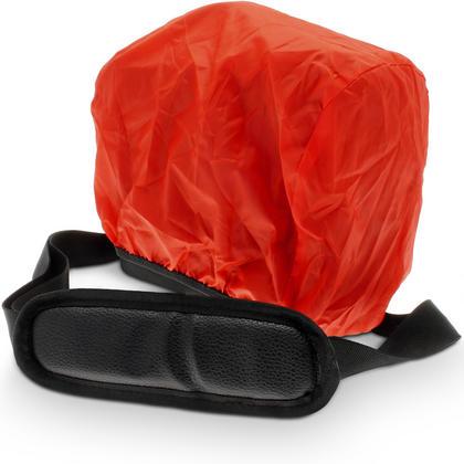 iGadgitz Medium Black Water Resistant SLR DSLR Bridge Messenger Camera Bag with Rain Cover + Shoulder & Waist Strap Thumbnail 2