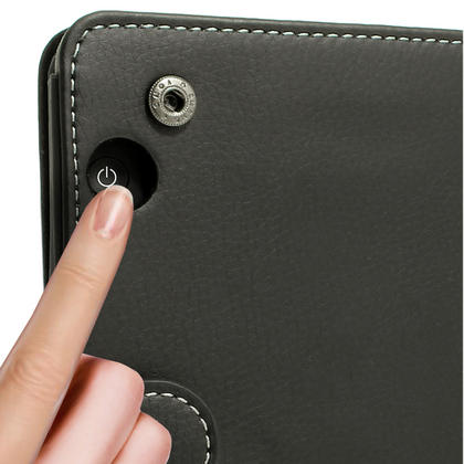 iGadgitz PU Leather Case Cover for Amazon Kindle Voyage with Viewing Stand + Auto Sleep Wake + Hand Strap Thumbnail 4