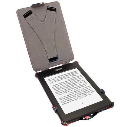 iGadgitz 'Desginer Collection' Executive PU Leather Case for Amazon Kindle Paperwhite 2015 2014 2013 2012 + Sleep Wake Thumbnail 2