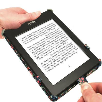 iGadgitz 'Desginer Collection' Executive PU Leather Case for Amazon Kindle Paperwhite 2015 2014 2013 2012 + Sleep Wake Thumbnail 3