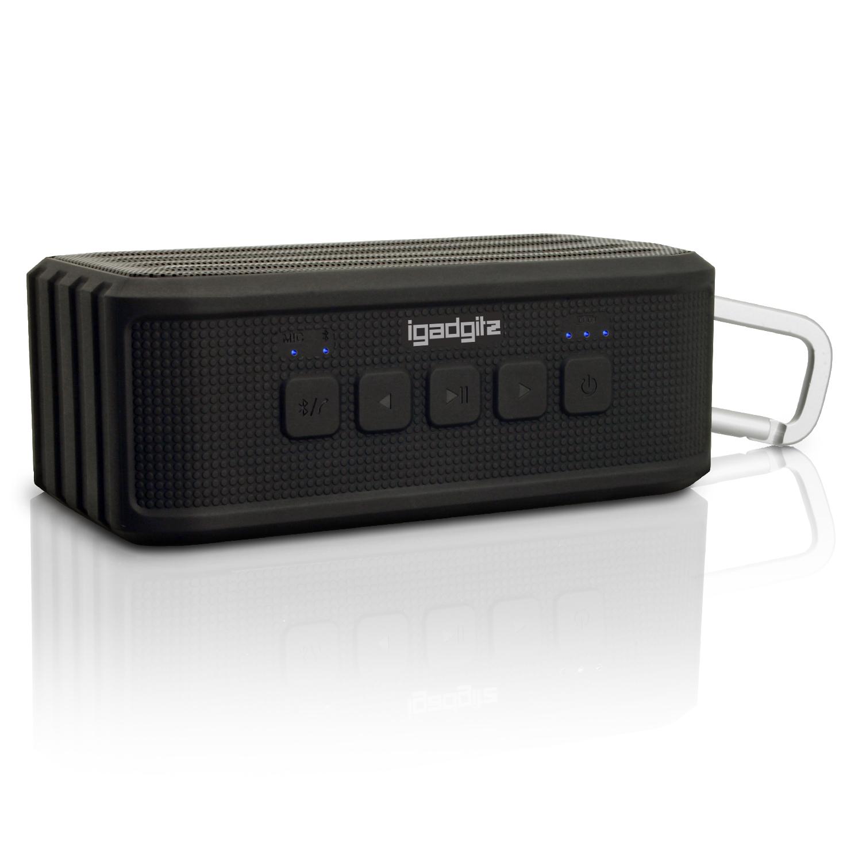 iGadgitz IGA-370 IPX4 7W Waterproof Portable Wireless