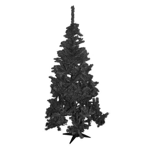 White-Black-Christmas-Tree-Artificial-Indoor-Xmas-Decoration-5ft-Height