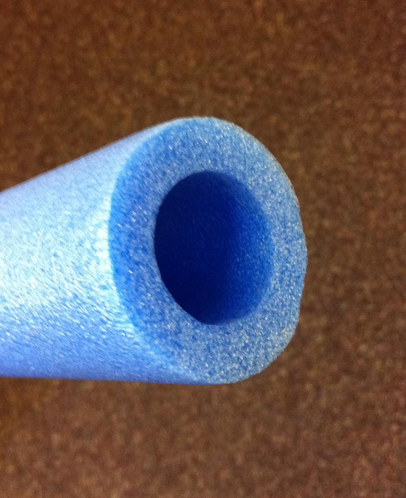 Trampoline Enclosure Foam Sleeves: 6 REPLACEMENT 8FT TRAMPOLINE ENCLOSURE FOAM POLE COVERS