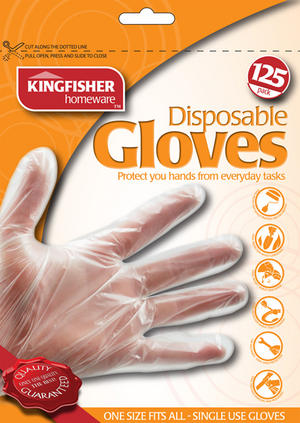 250 PAIRS OF DISPOSABLE GLOVES. FOR GARDENING CLEANING OVENS, KITCHENS BATHROOMS Preview