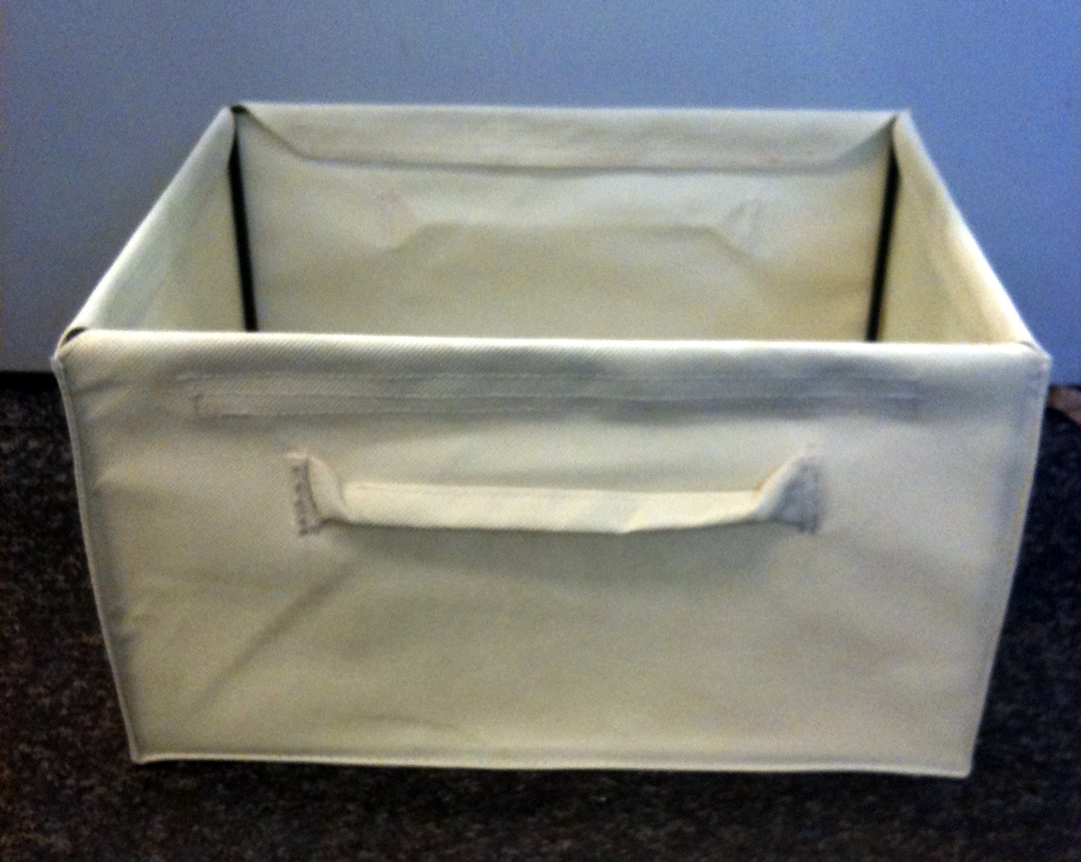 Canvas Storage Boxes For Wardrobes: SET OF 10 CANVAS STORAGE BOXES. UNDERBED. WARDROBES