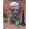 View Item NEW 4 TIER PORTABLE GARDEN PATIO GREEN HOUSE GROW HOUSE. PLANTS &amp; VEGETABLES.