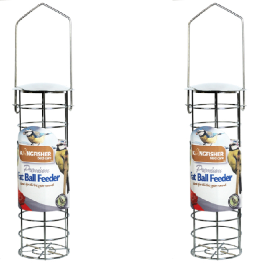 Fatball Feeders Wild Bird Premium Suet Fatsnax Feeders New Pair Enlarged Preview