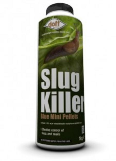 View Item 1KG DOFF GARDEN SLUG SNAIL KILLER BLUE MINI PELLETS PESTICIDE