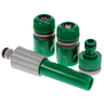 View Item GARDEN HOSEPIPE HOSE SPRINKLER SET FITTING, TAP CONNECTOR & FEMALE FITTING.