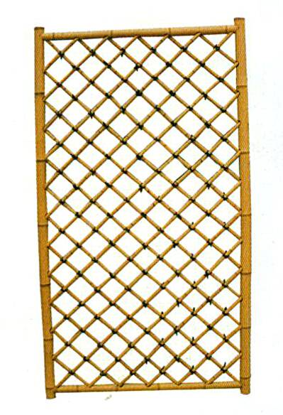 Garden bamboo panel wall 3 pack outdoor trellis fencing for Outdoor bamboo screen panels
