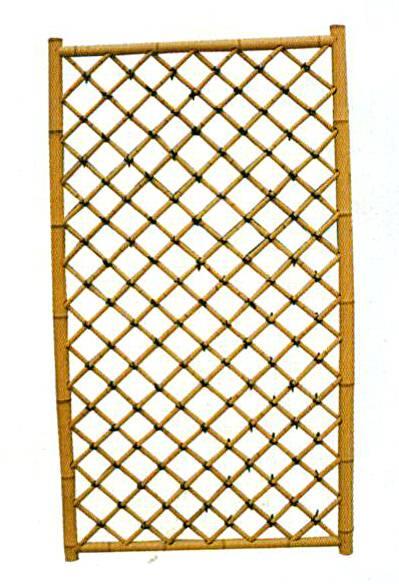 Garden bamboo panel wall 3 pack outdoor trellis fencing for Outdoor bamboo screen panels