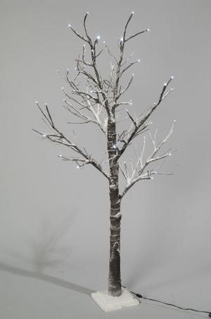 Item Details - 70cm PRE LIT CHRISTMAS TREE. 30 LED XMAS SNOWY TWIG