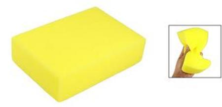 View Item 6 HANDY SPONGE PACK. SPONGES. KITCHEN, CAR, CLEANING. SOFT FINE. NEW SPONGES.