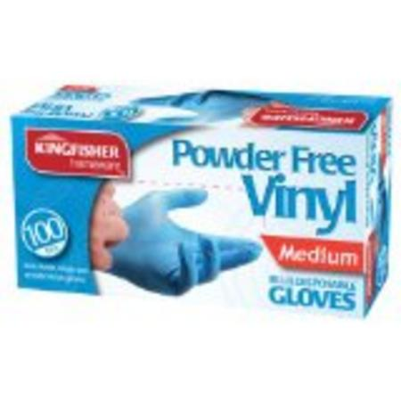 View Item DISPOSABLE VINYL GLOVES POWDER-FREE. PACK 100. FOOD, CLEANING. VARIOUS SIZES