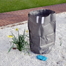 View Item HEAVY DUTY REFUSE BAG. TEAR RESISTANT STITCHING. RIM STRENGTHENING BAND. FOLDS.