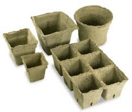 View Item COWPOTS ECO PLANT POTS. GREAT FOR GROWING PLANTS, BIODEGRADABLE. NO WASTE. NEW.