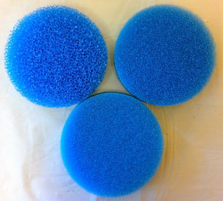 View Item FILTER MEDIA FILTRATION SPONGES. BLUE. FIBER FOAM. POOL. AQUARIUM. FISHTANK POND