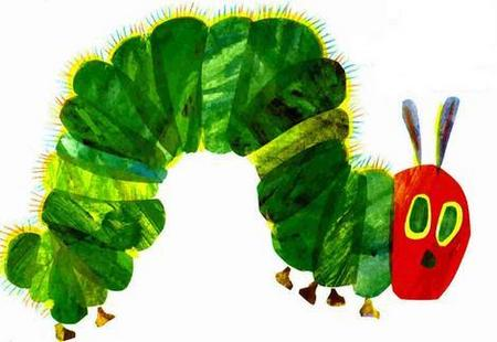 View Item 3 PLY TISSUES 2x60 PACK. WORLD OF ERIC CARLE. HUNGRY CATERPILLAR. DECORATED BOX.